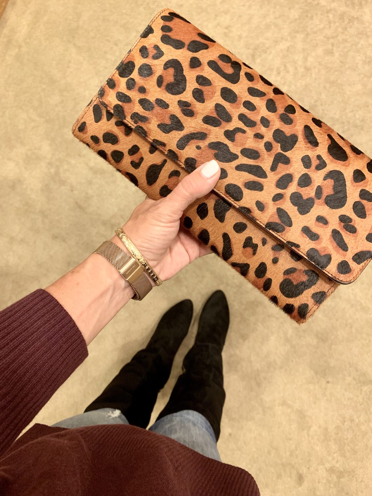 Nordstrom Anniversary Sale - Leopard clutch