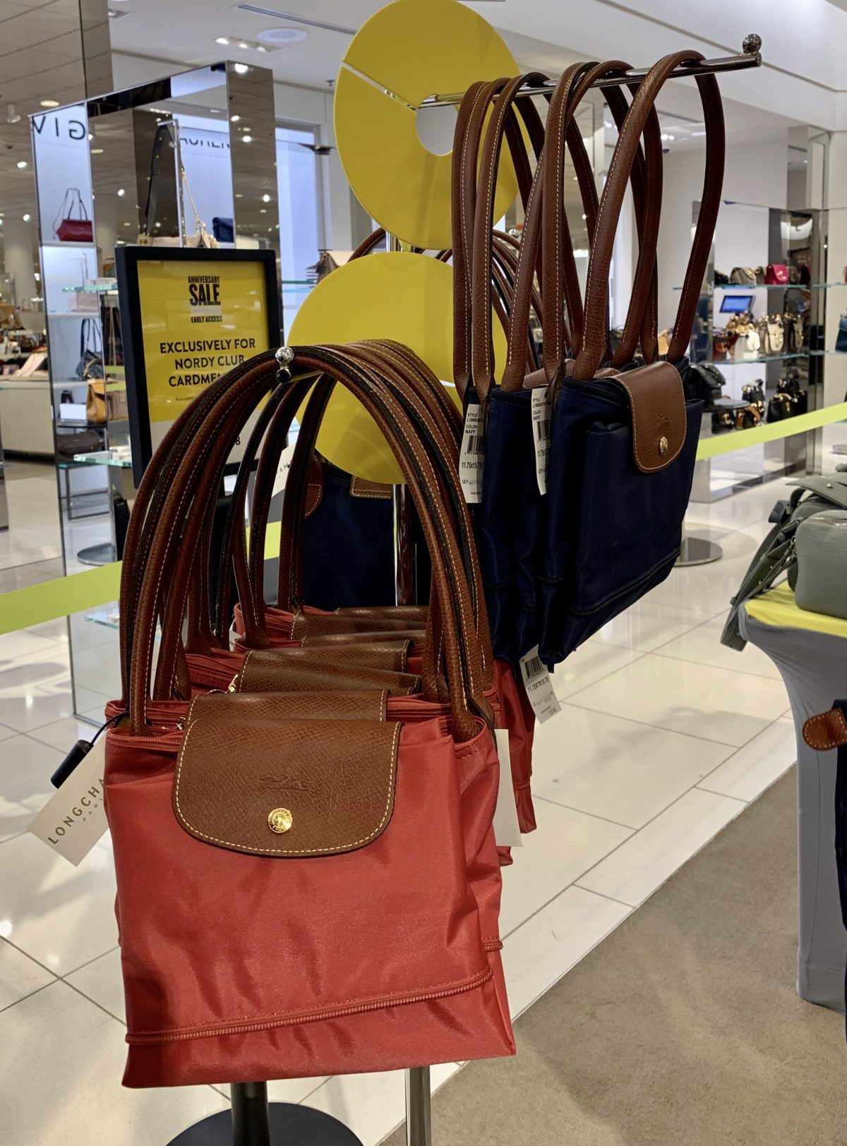 Nordstrom Anniversary Sale - Longchamp expandable totes