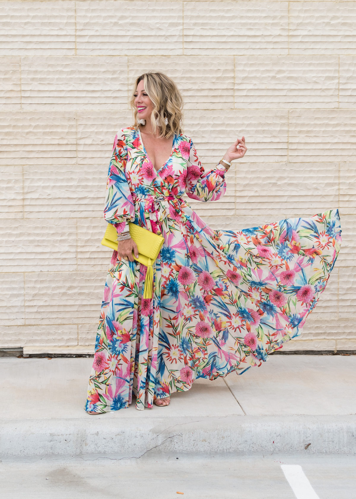 Amazon Fashion Prime Day Haul - Floral Maxi Dress