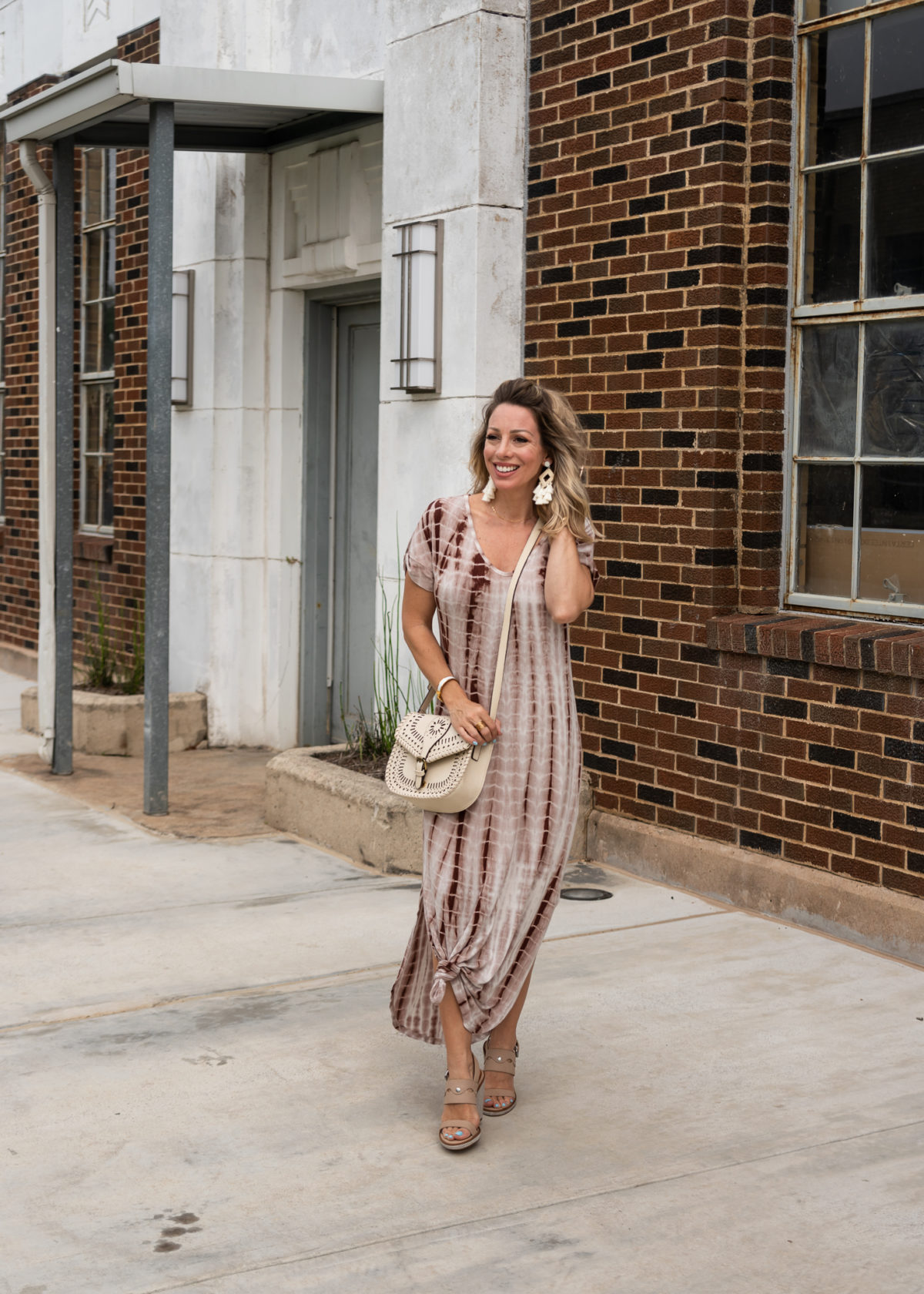 Amazon Fashion Prime Day Haul - tie dye maxi dress