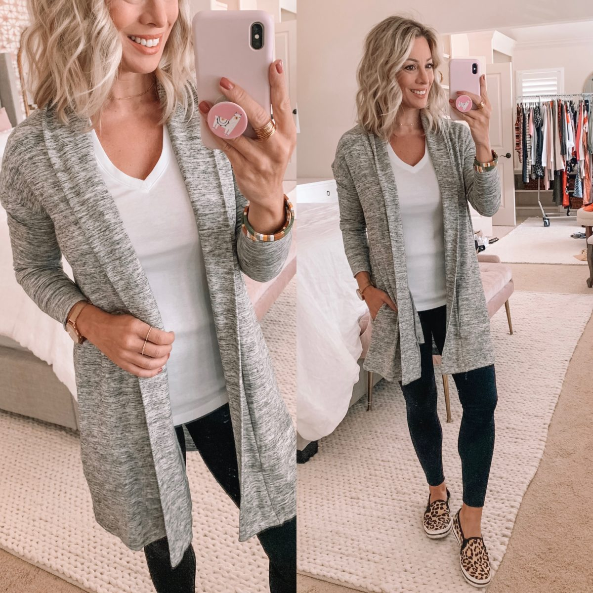 Amazon Long Grey Cardigan