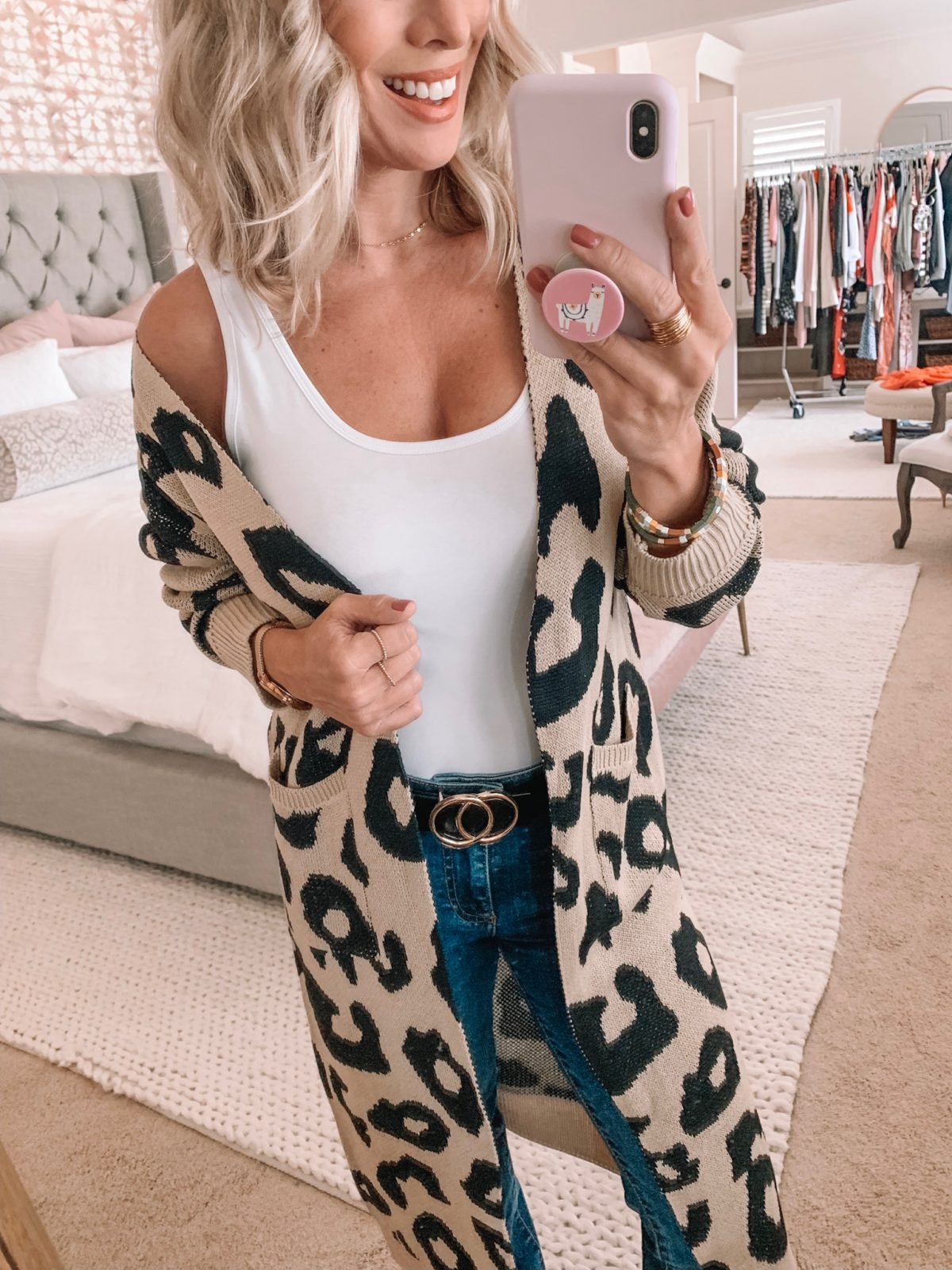 Amazon Leopard Cardigan