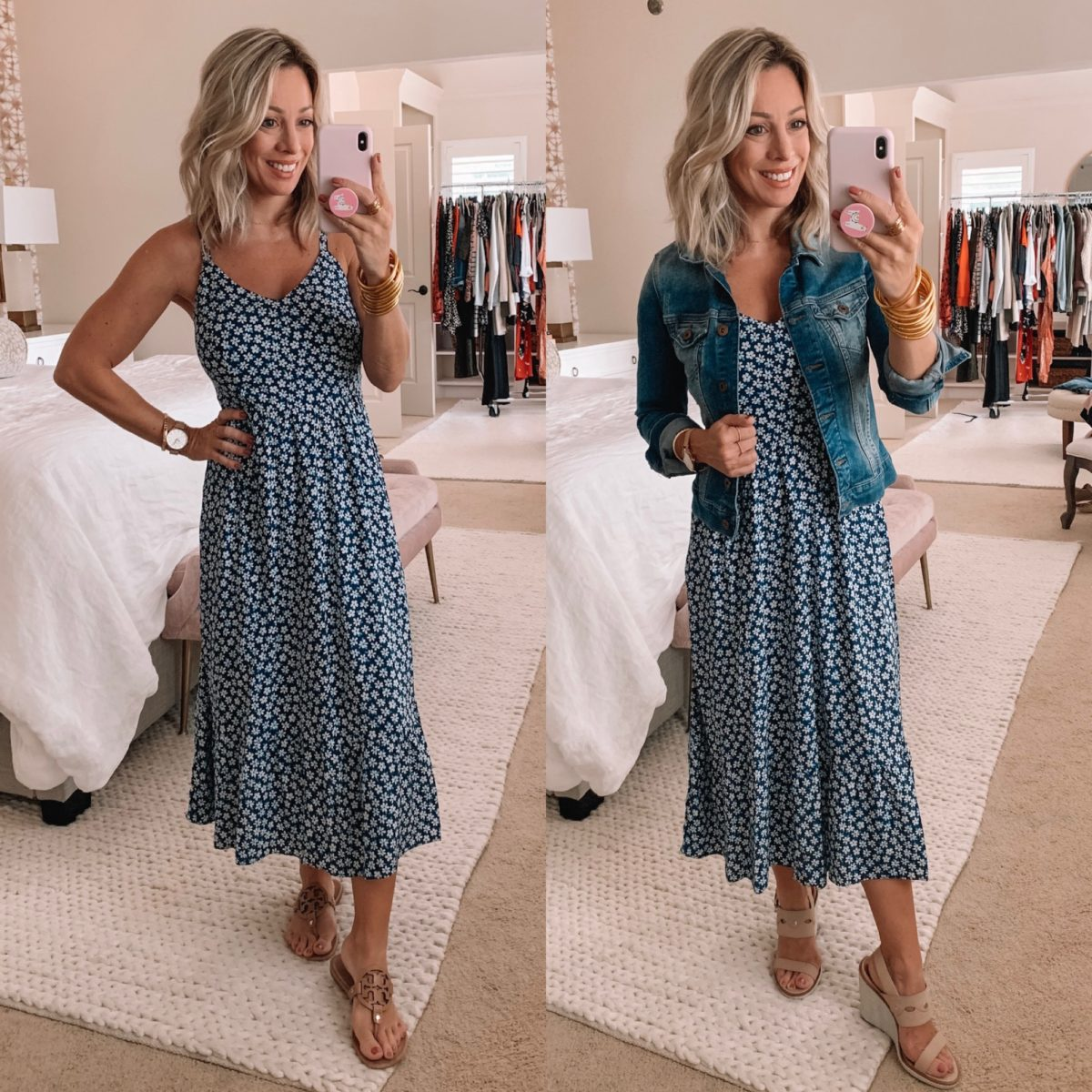 Old Navy Blue Maxi Dress