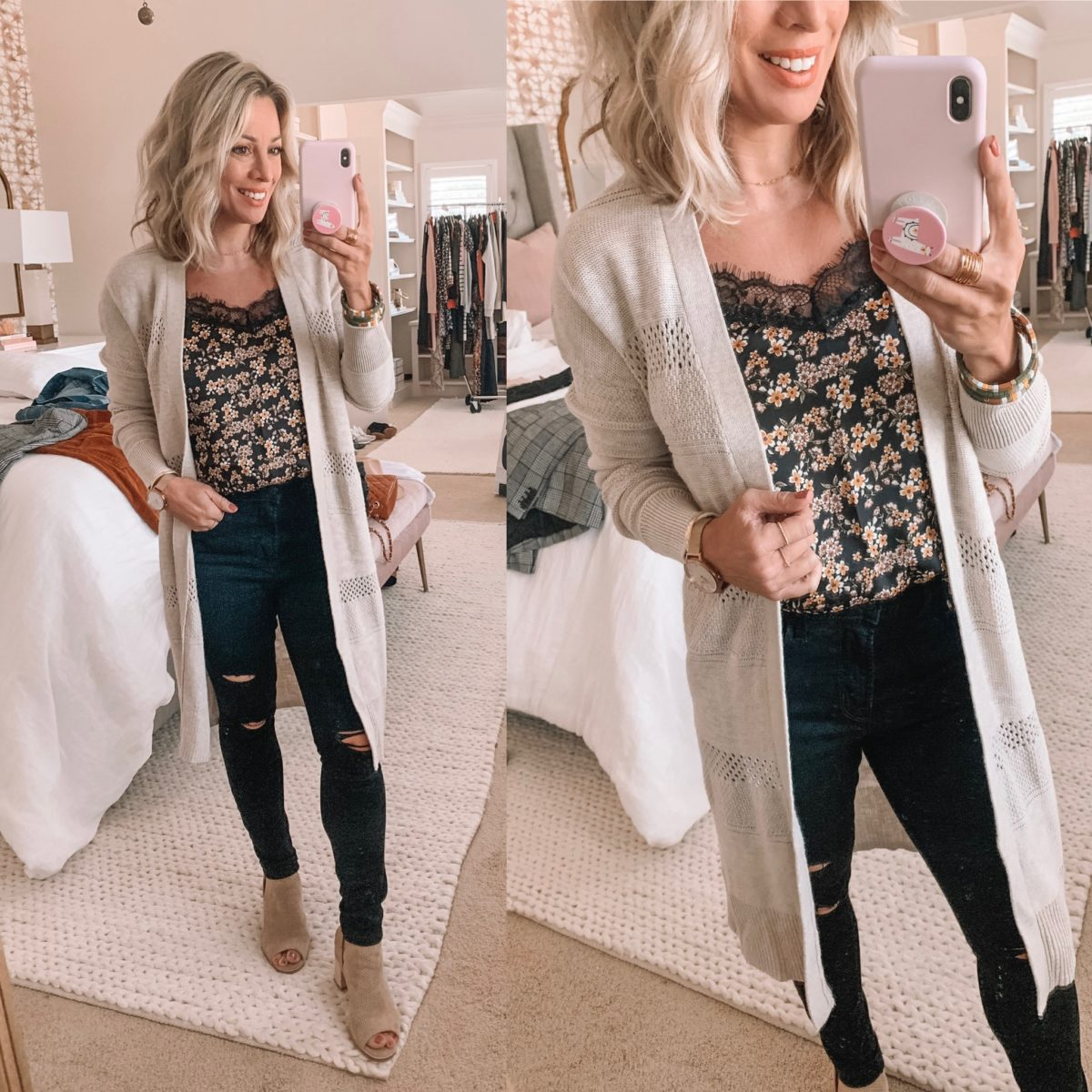 Target Lace Floral Camisole