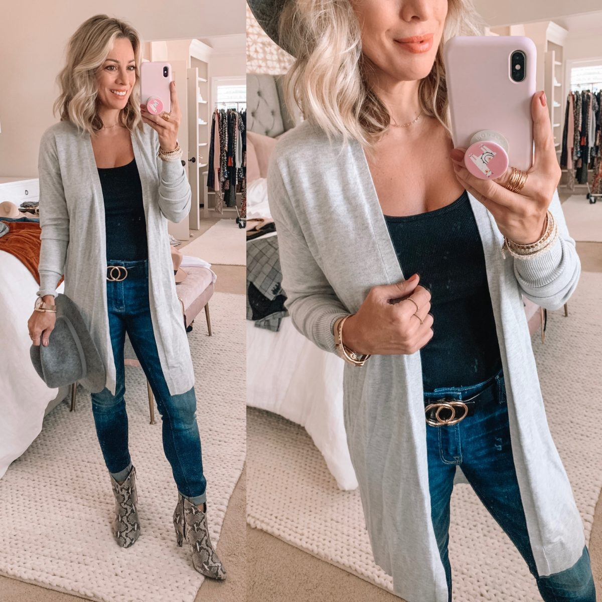 Target Long Grey Cardigan