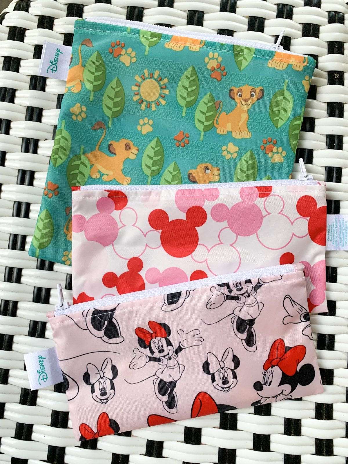 washable and reusable snack bags