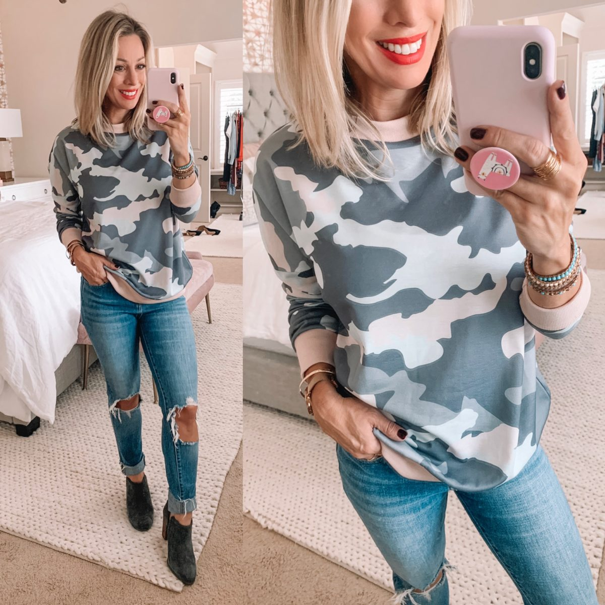 Amazon Camo Sweater
