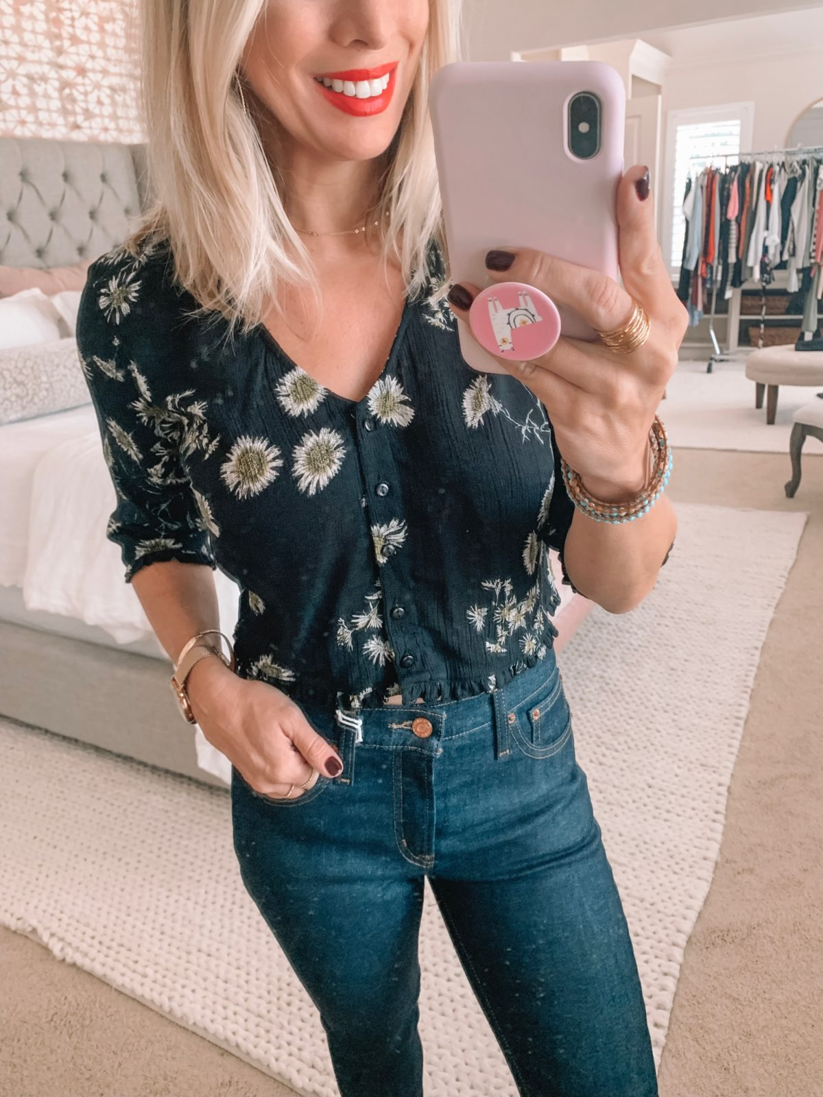 Amazon Floral Top