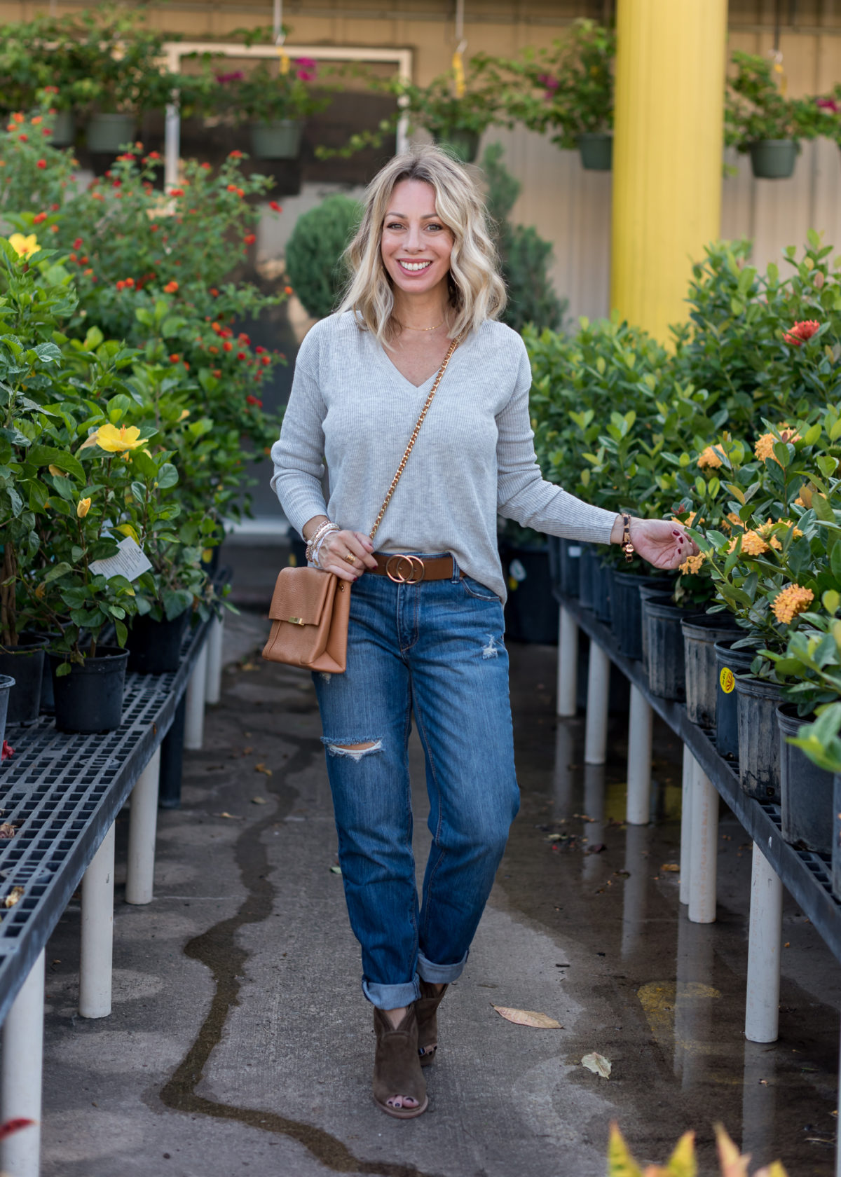 Nordstrom Rack-Sweater, Jeans and Booties