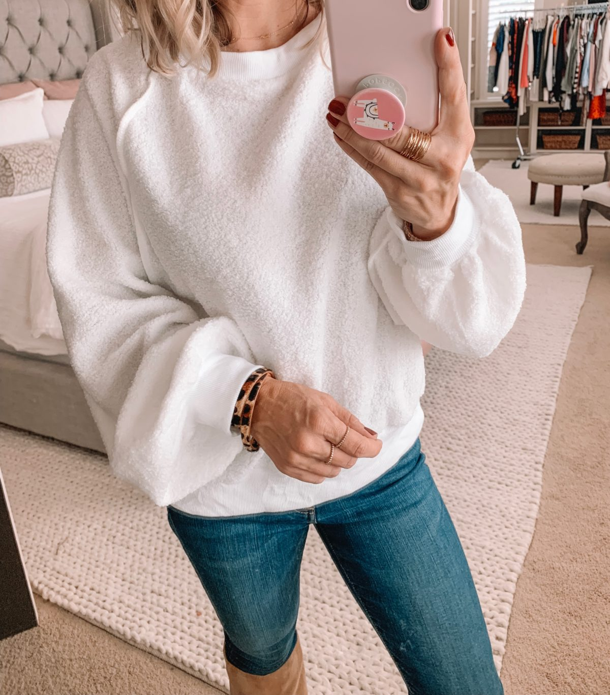 Amazon Prime Fashion- Sweater and Jeans