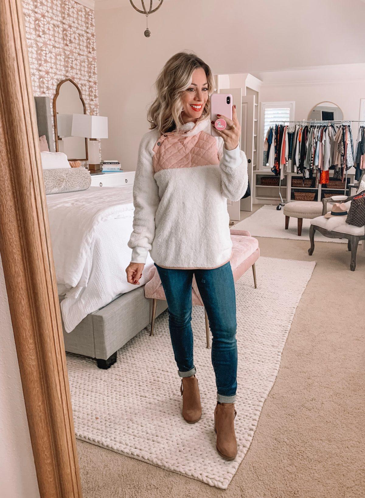 Amazon Prime Fashion- Fleece and Jeans