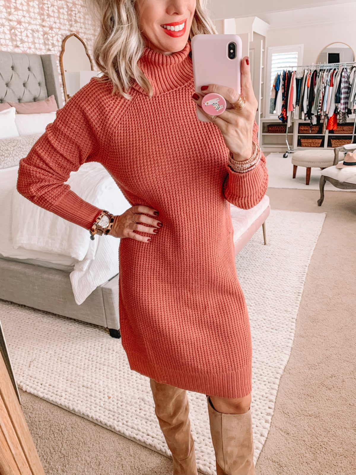Amazon Prime Fashion- Sweater Dress