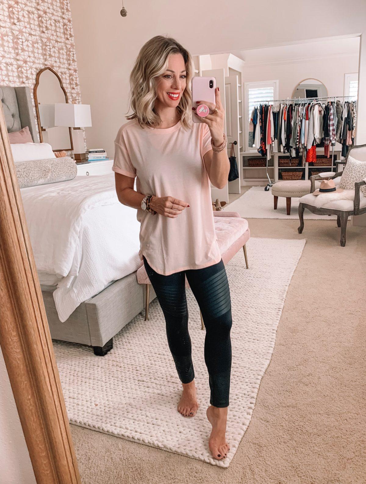 Amazon Prime Fashion- Tee and Leggings
