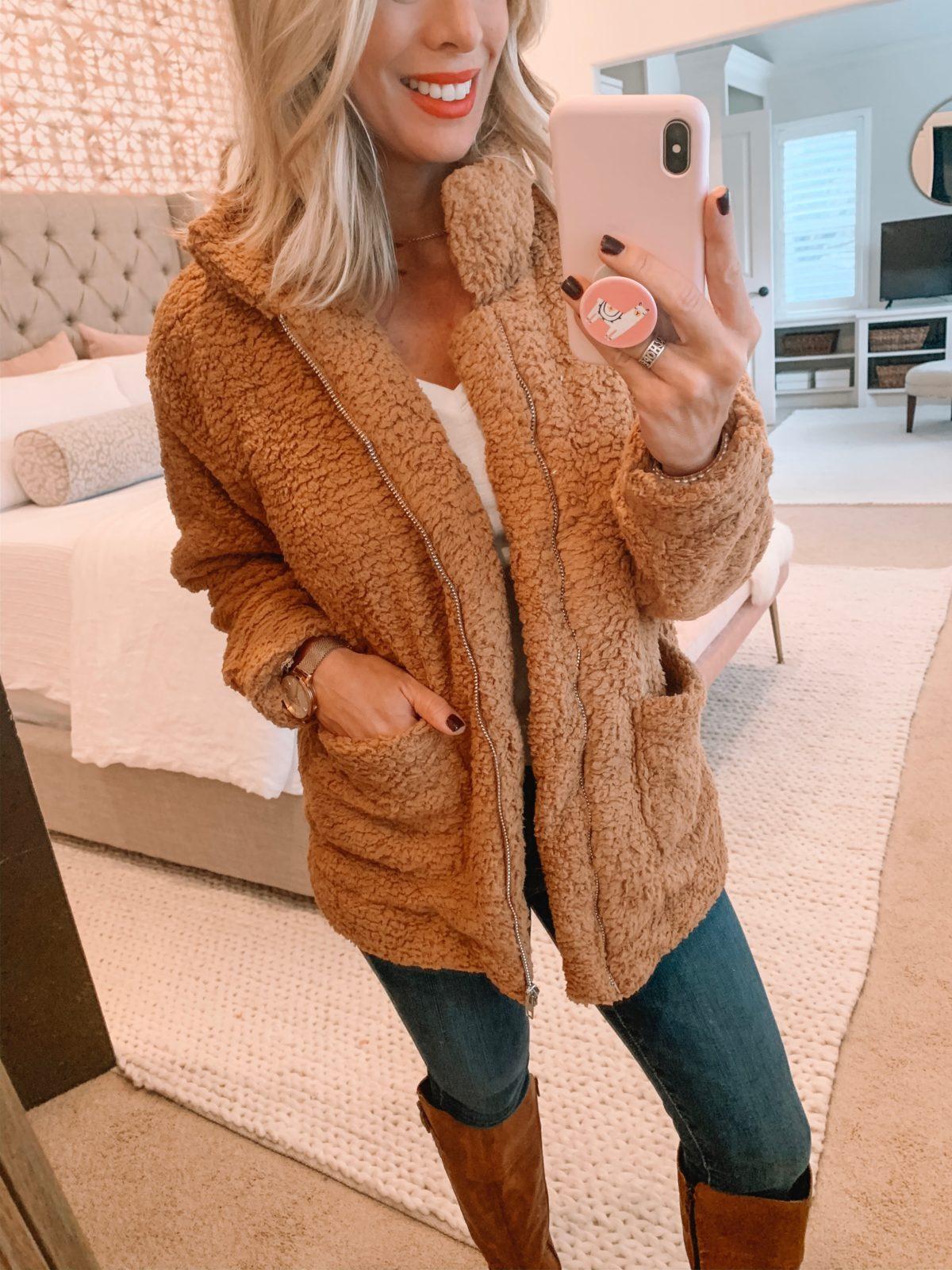 Amazon Teddy Jacket