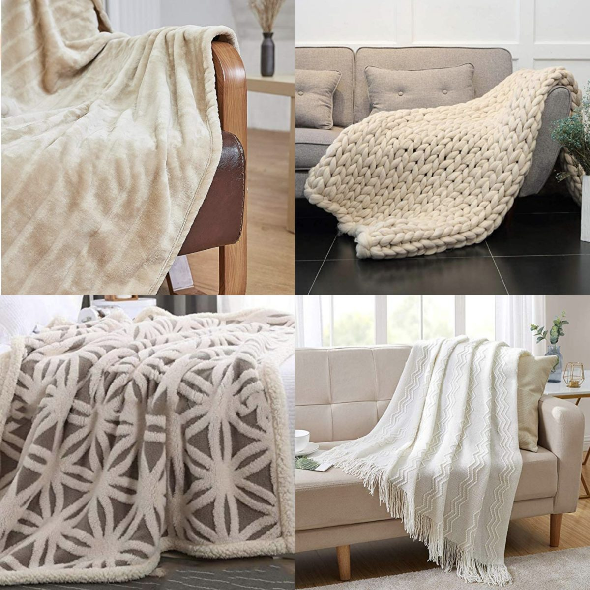 Fall Throw Blankets on Amazon PRIME