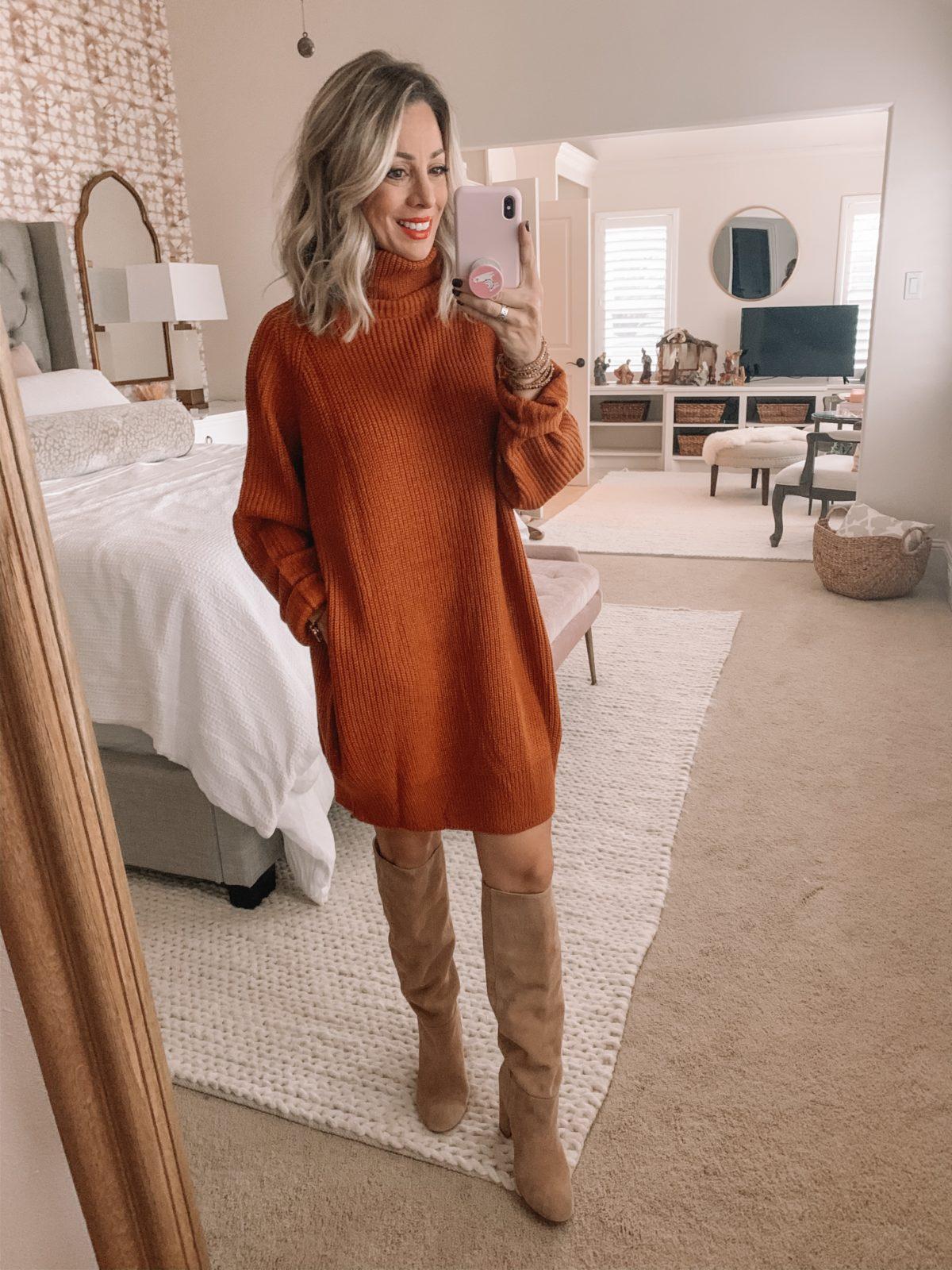 Amazon Sweater Dress