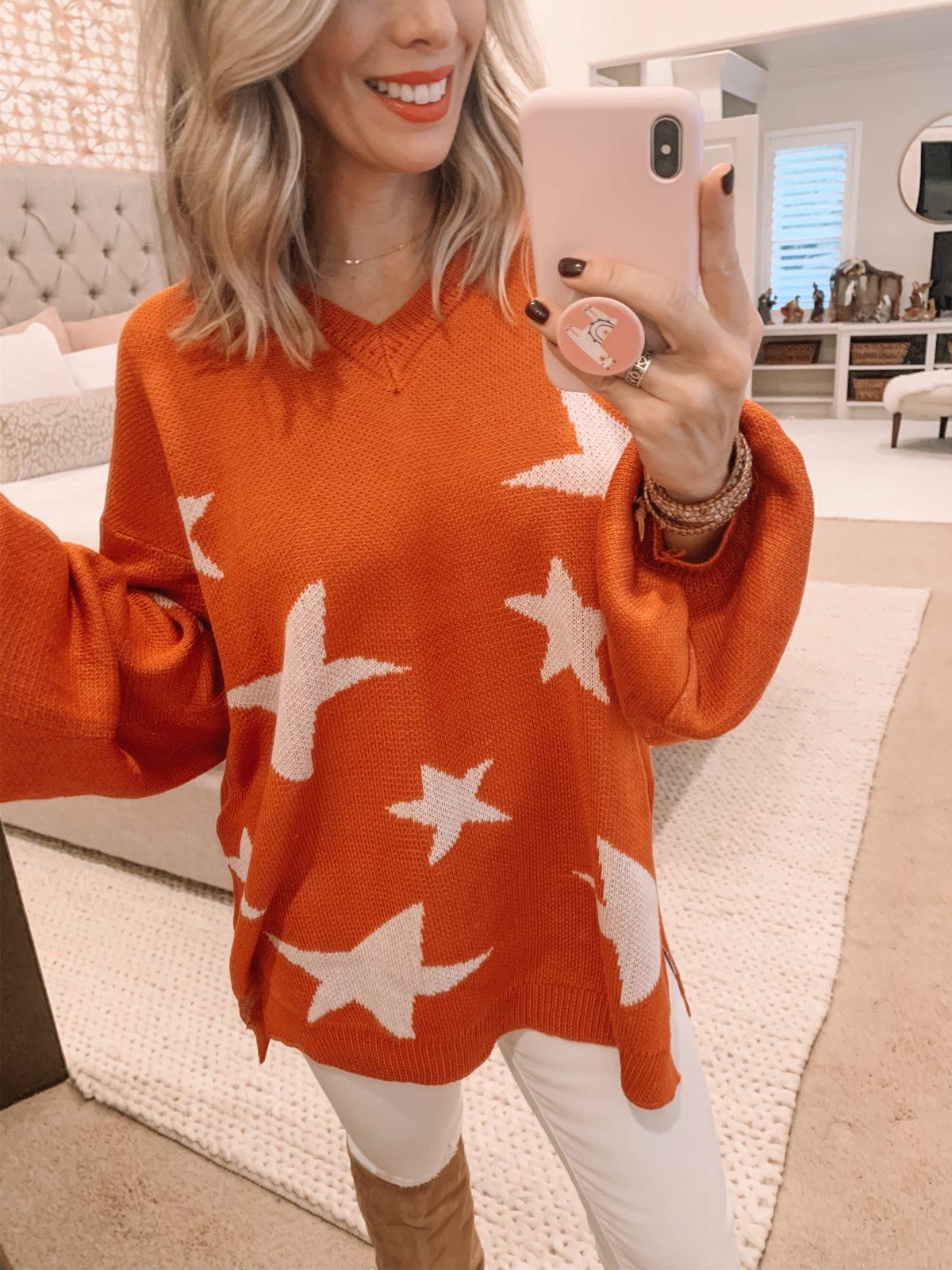 Amazon Star Sweater