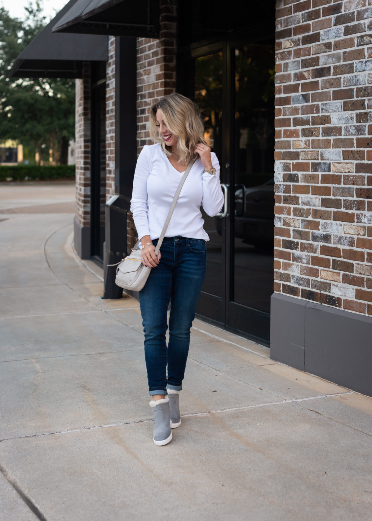 JC Penney Top and Jeans