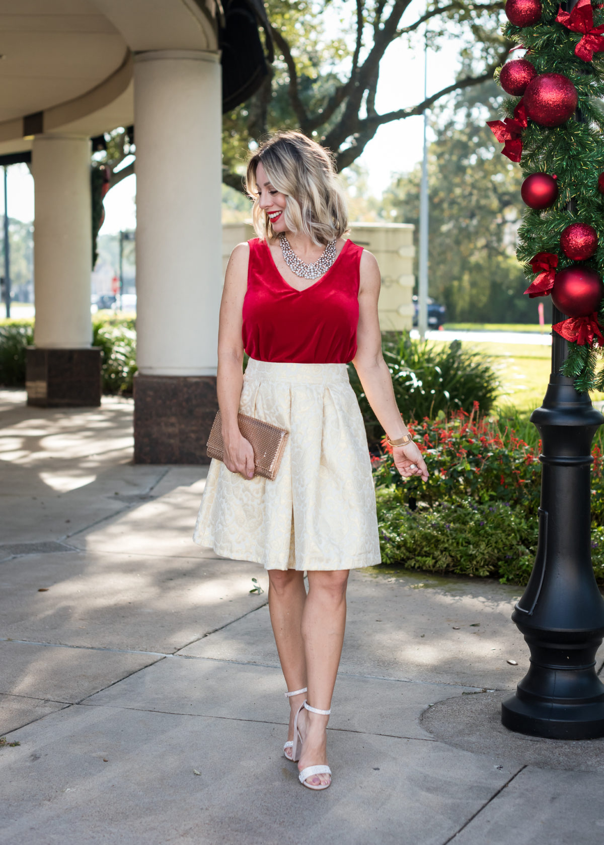 Nordstrom Tank and Skirt
