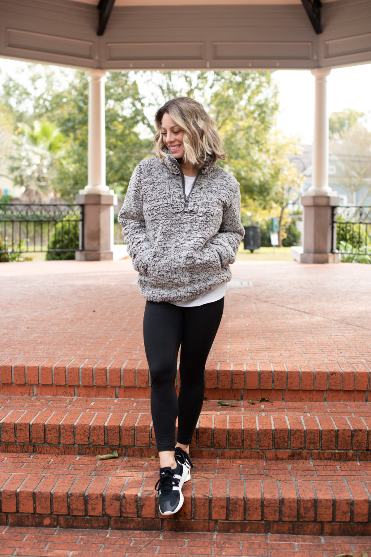Nordstrom Fleece and Leggings