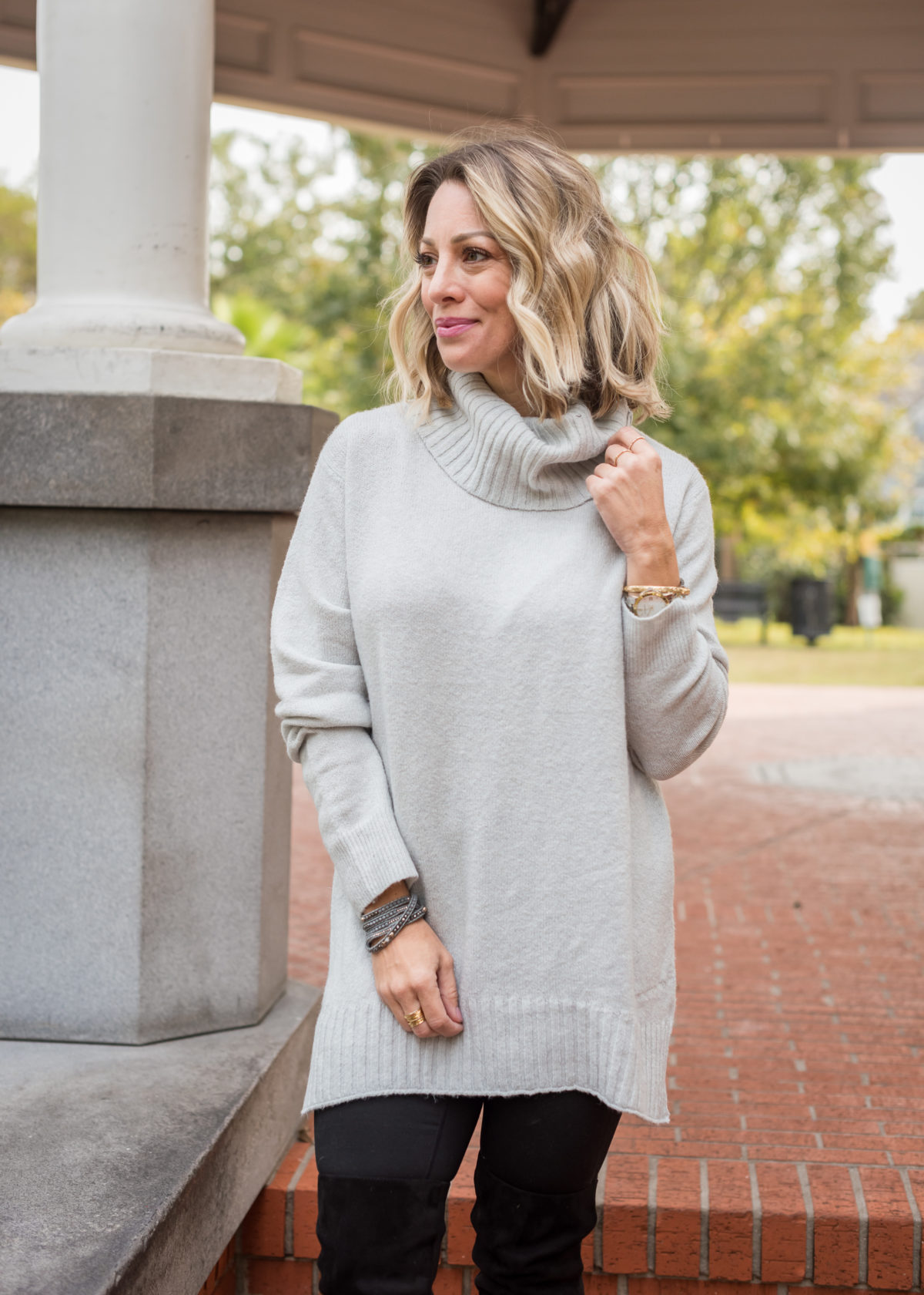 Nordstrom Sweater and Leggings