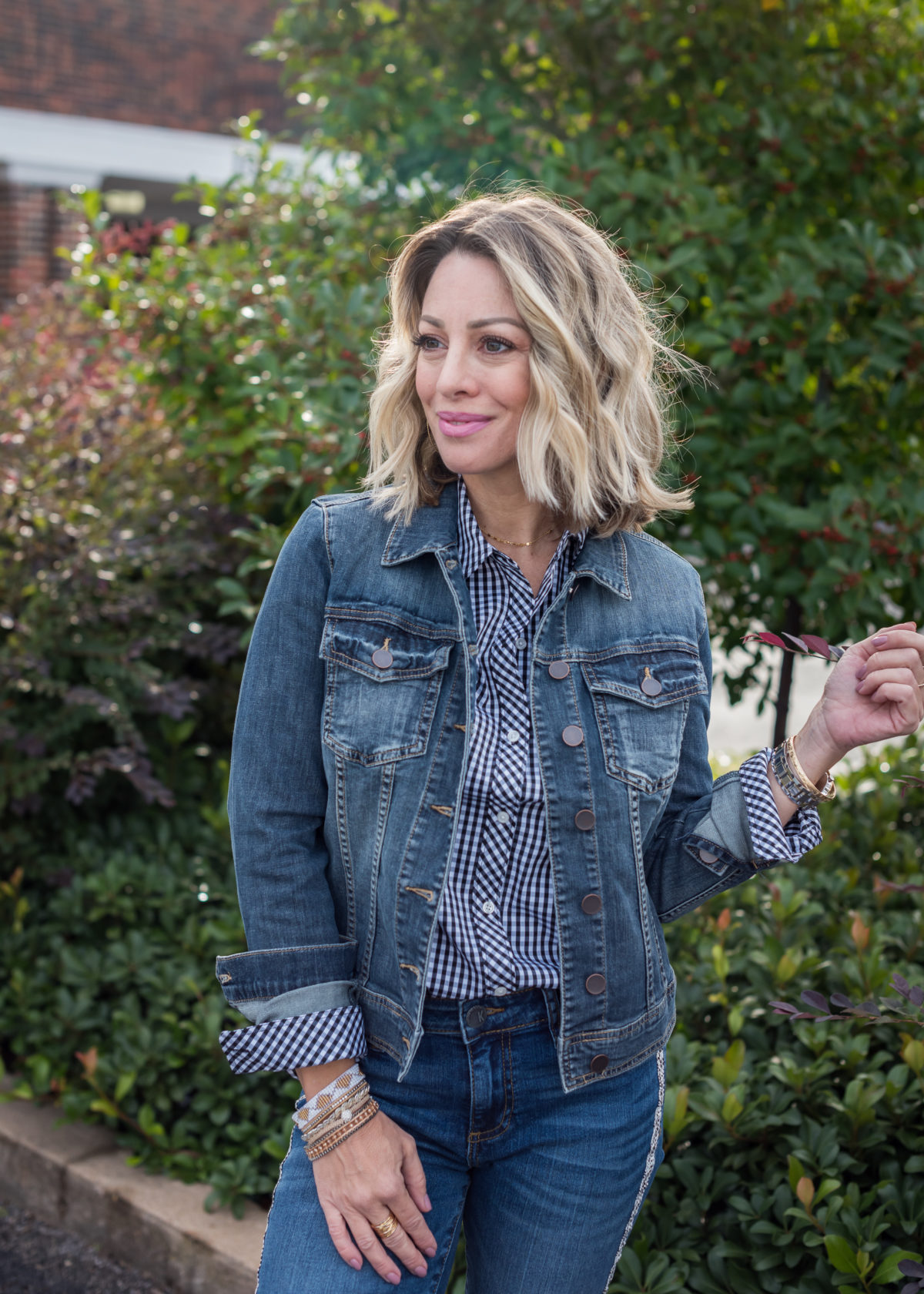 Fall Outfit jean jacket