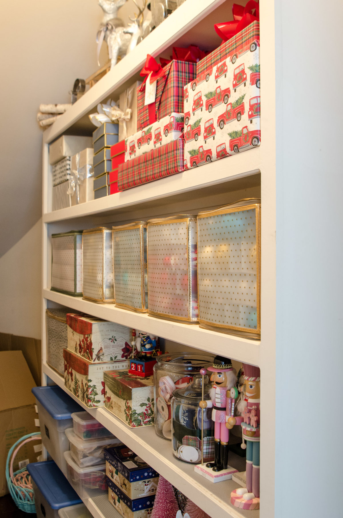 Holiday Storage Closet