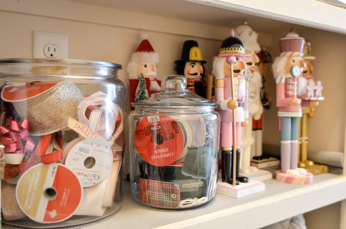 Holiday Storage Closet