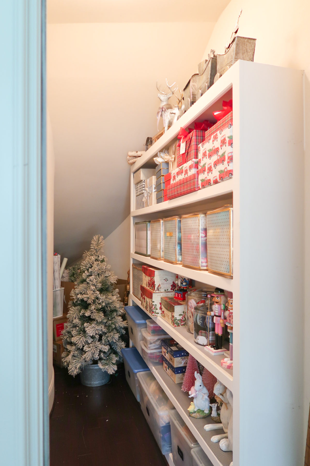 holiday closet storage