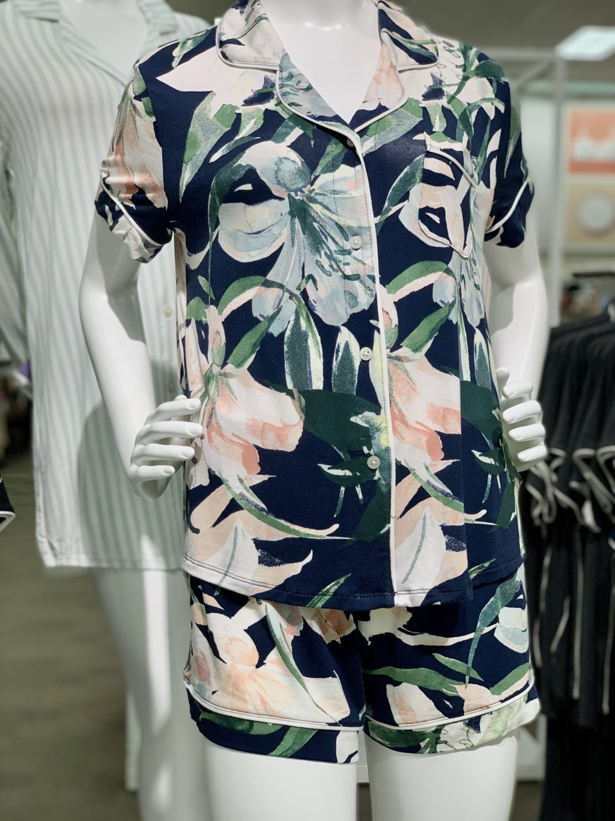 Floral Pajamas