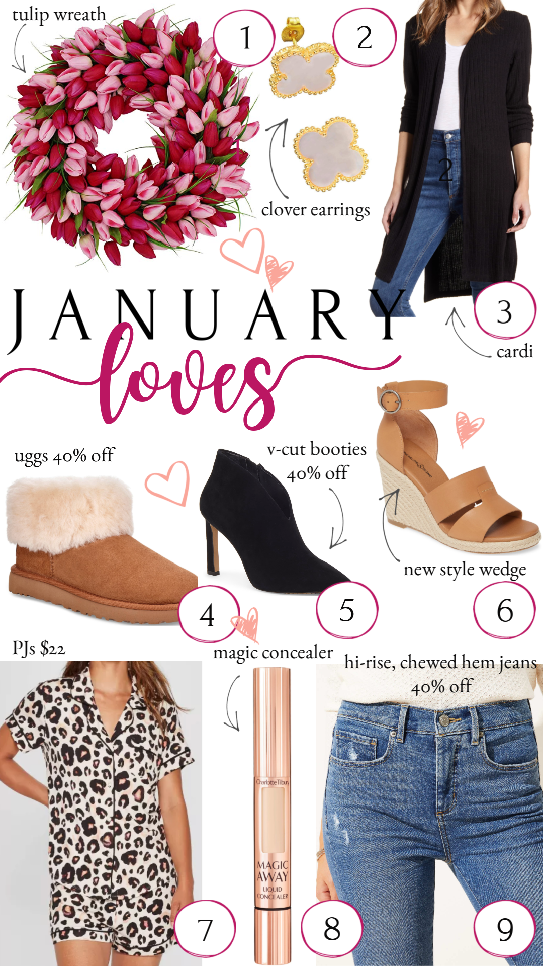 January Loves & I'm Giving Them to You