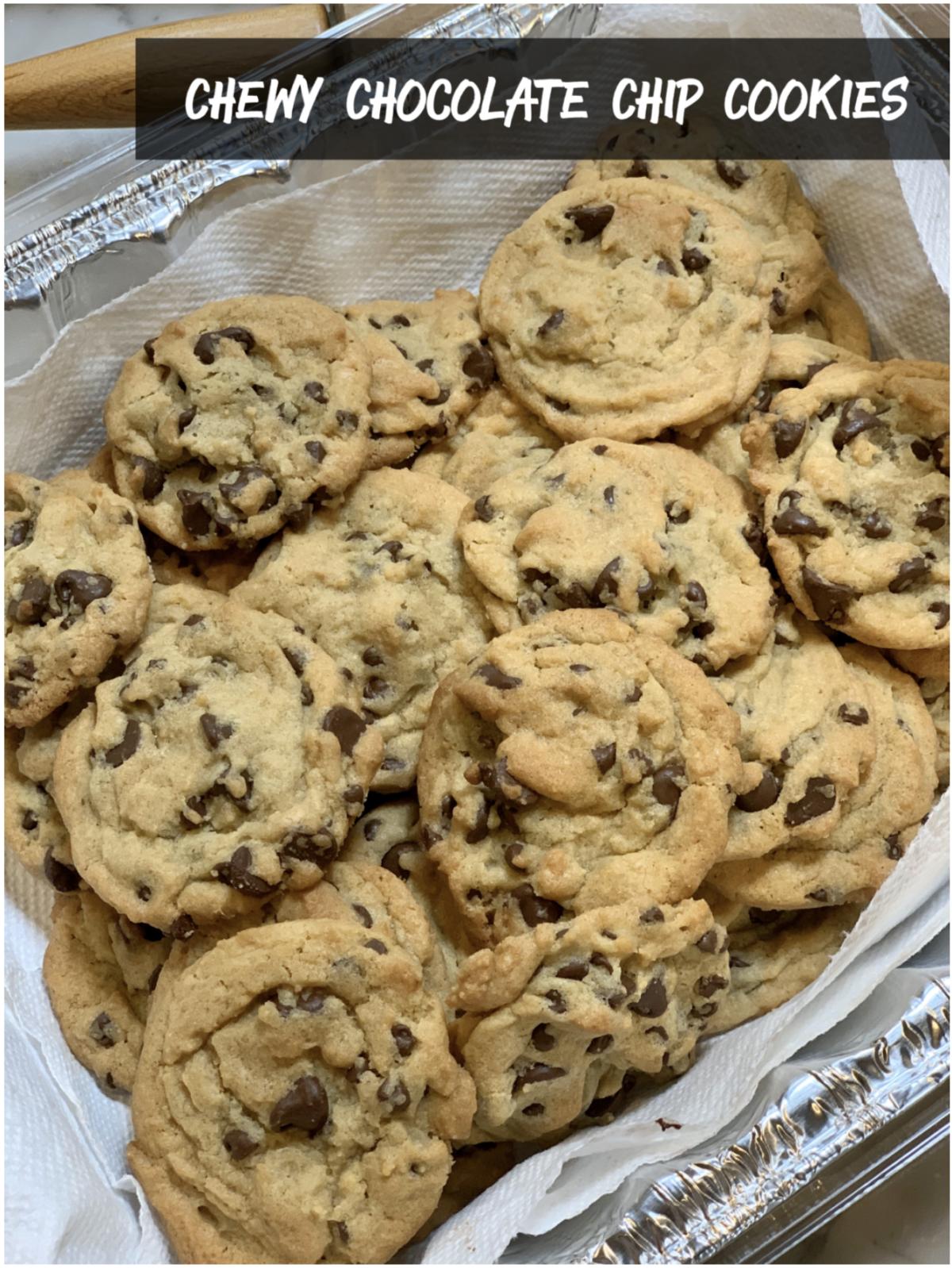 Rhonda's Chewy Chocolate Chip Cookies