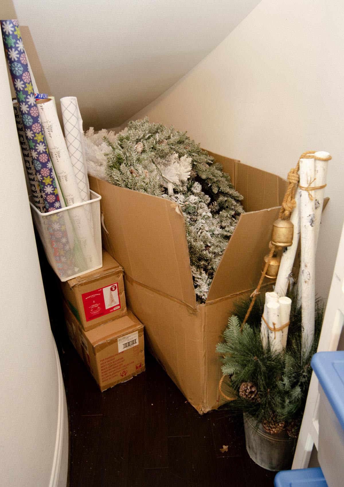 holiday closet Christmas storage.2