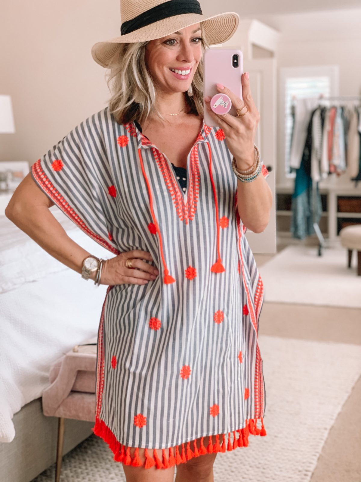 jcrew tunic coverup