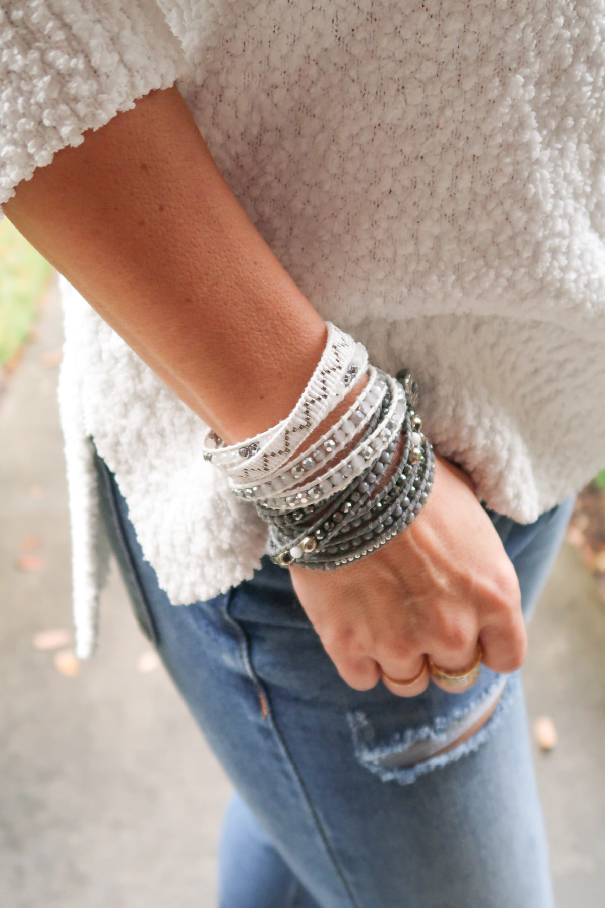 huge sale on Victoria Emerson wrap bracelets
