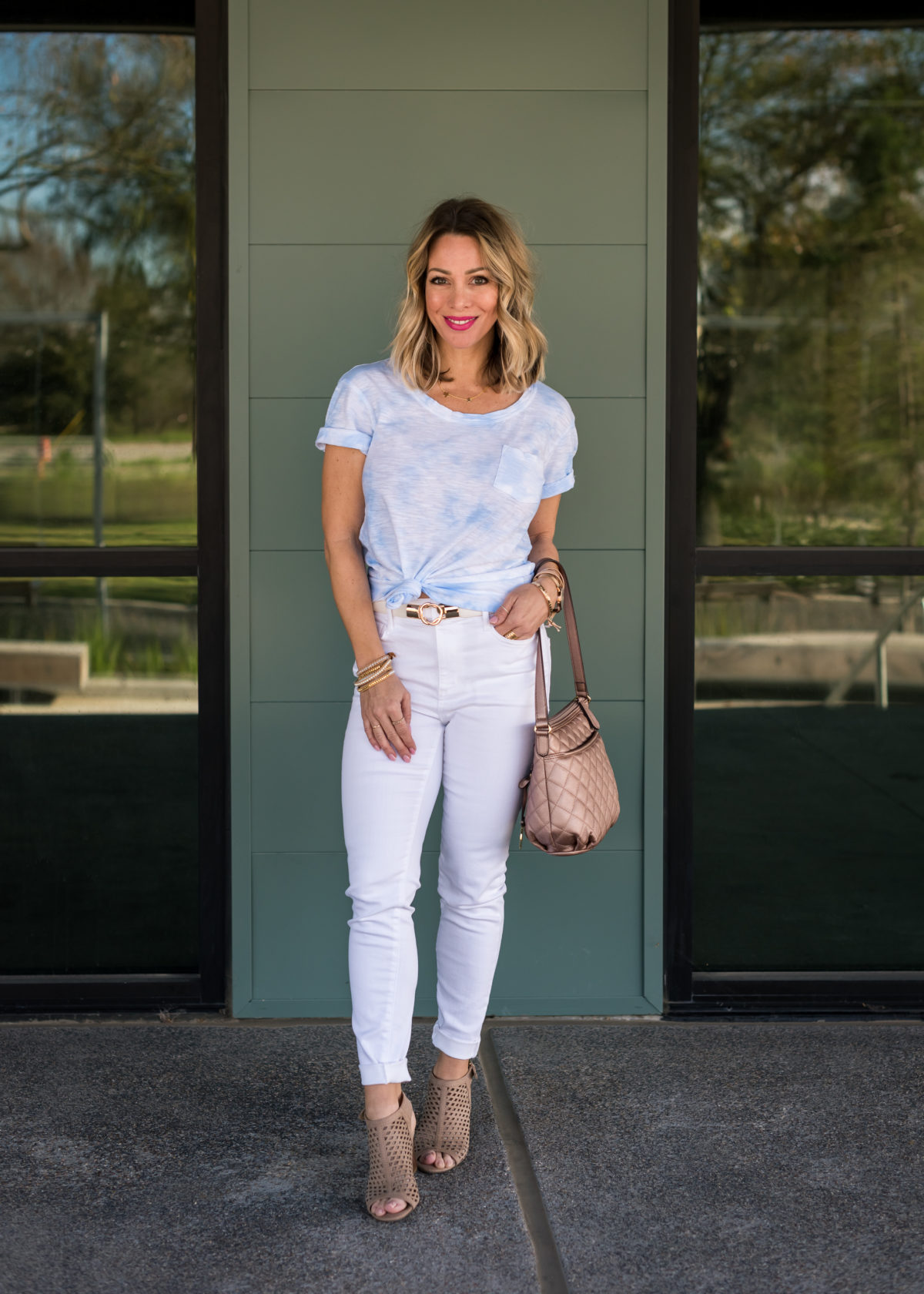 Affordable Spring Styles | White Jeans Under $25