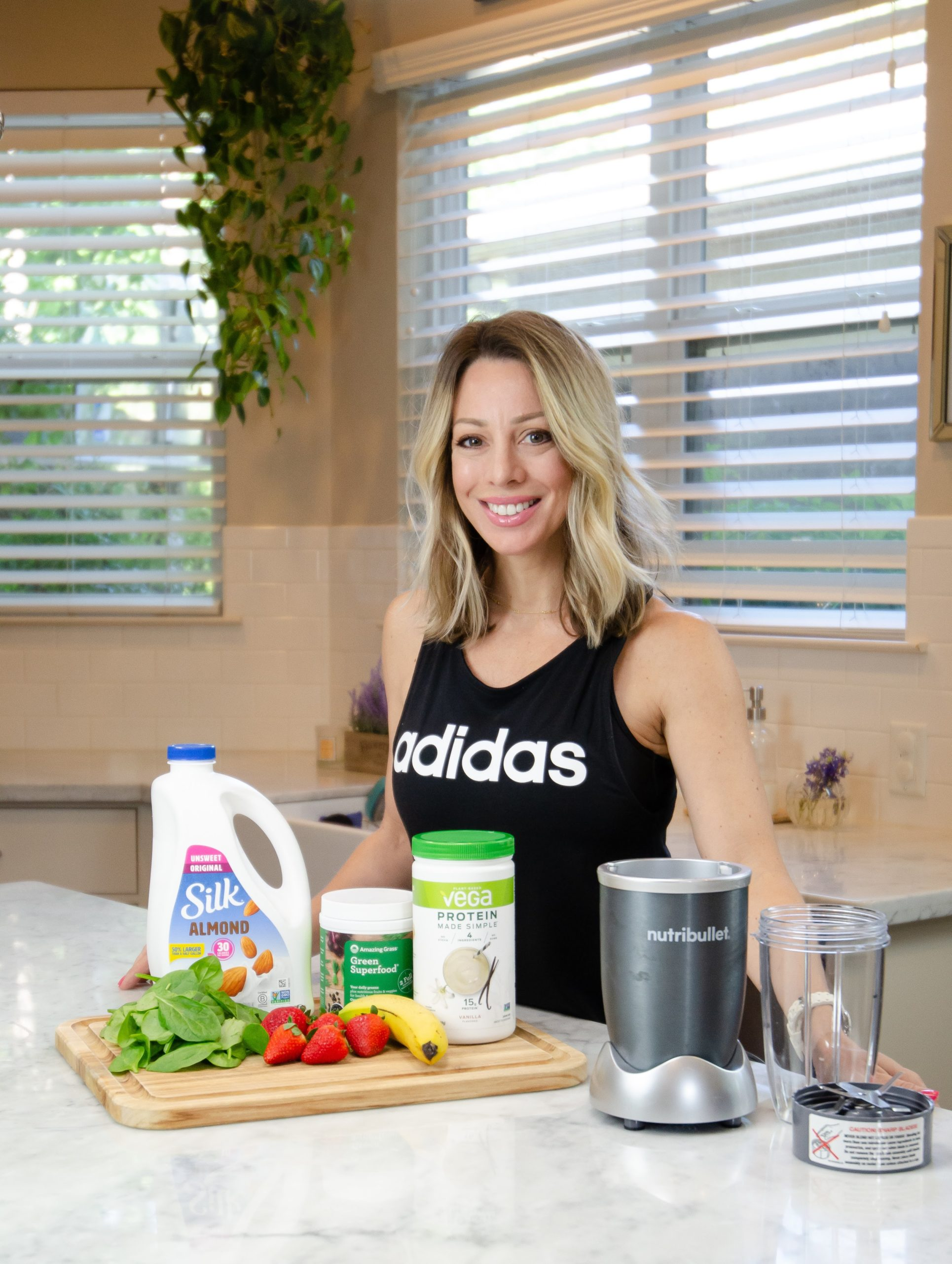 Adidas Workout top, Nutribullet