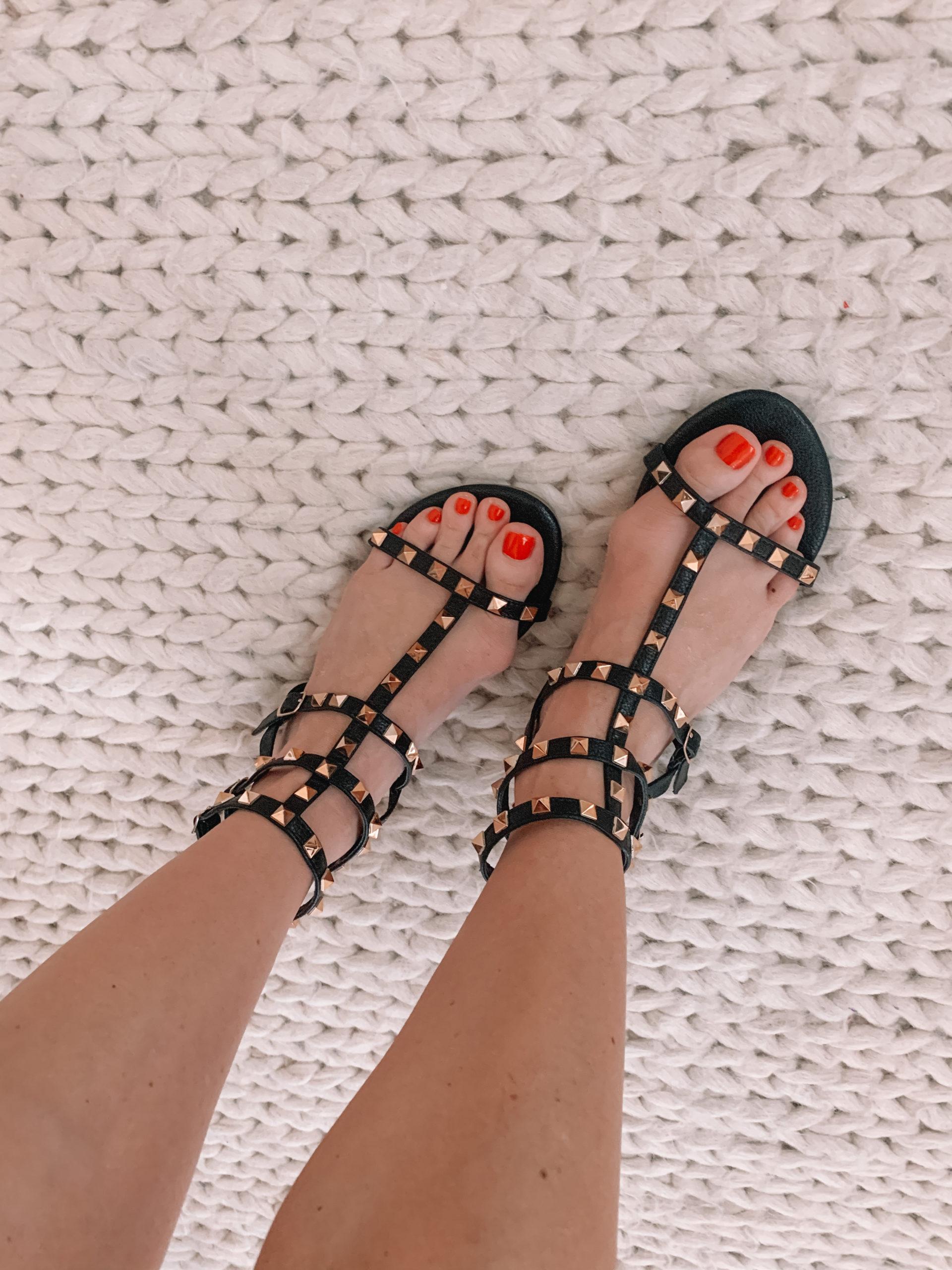 Amazon Fashion - Studded Sandals