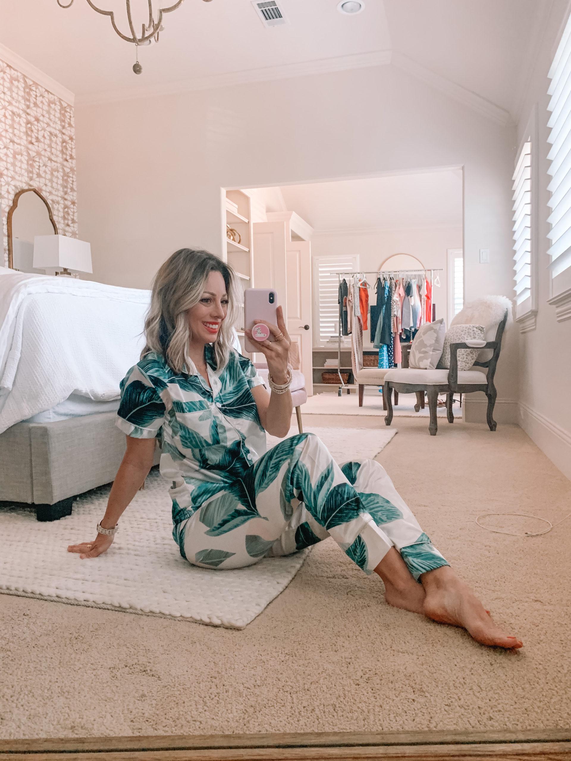 Amazon Fashion - Palm Print Pajamas