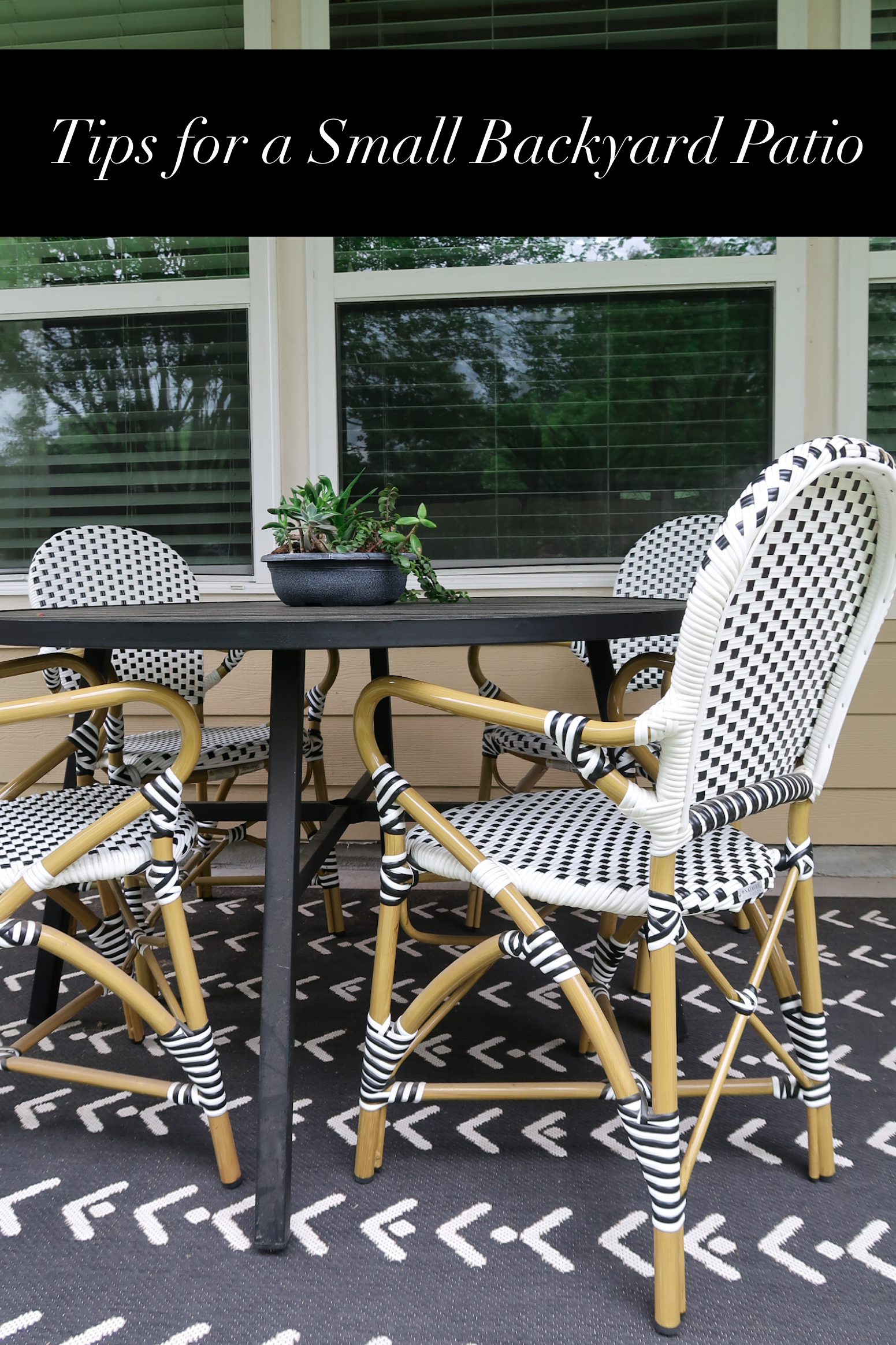 Tips for a Small Backyard & Patio