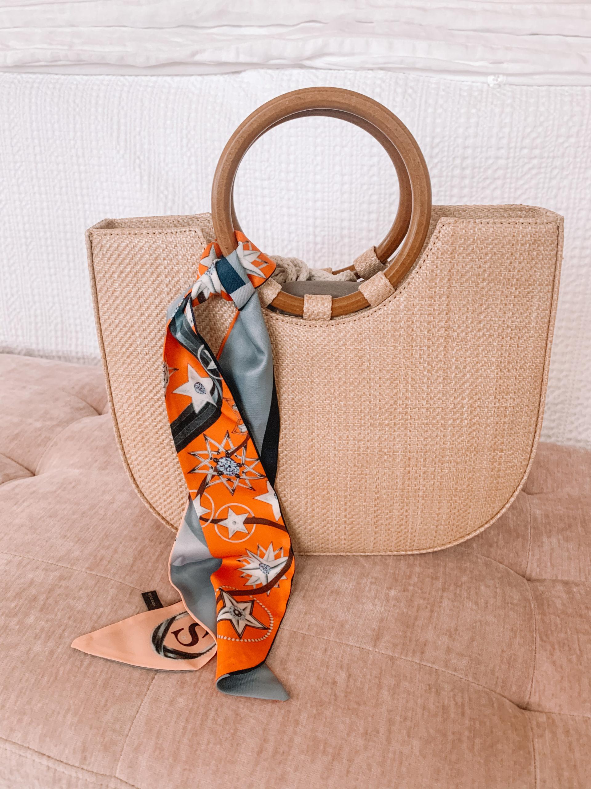 Amazon Fashion - Woven Tote Bag