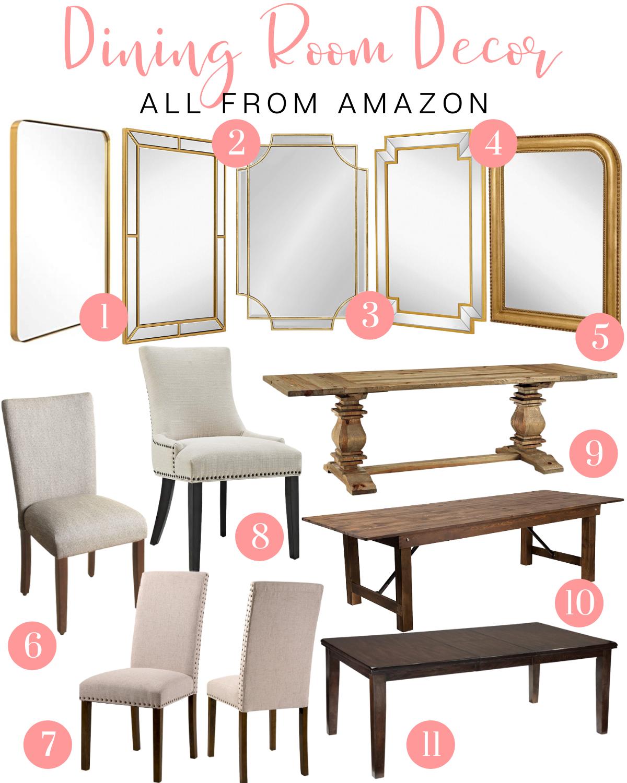 Amazon Dining Room Decor