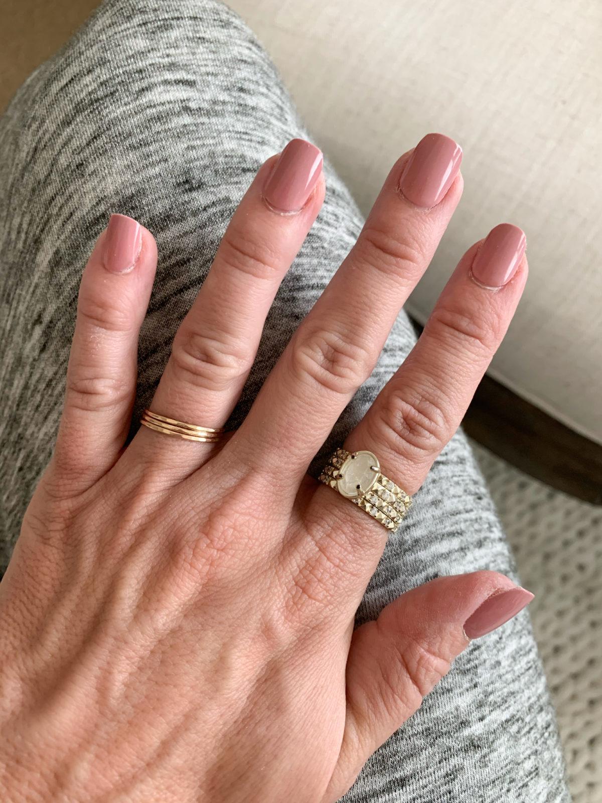 Amazon Fashion Finds, Press On Nails, Gorjana Ring, Kendra Scott Ring