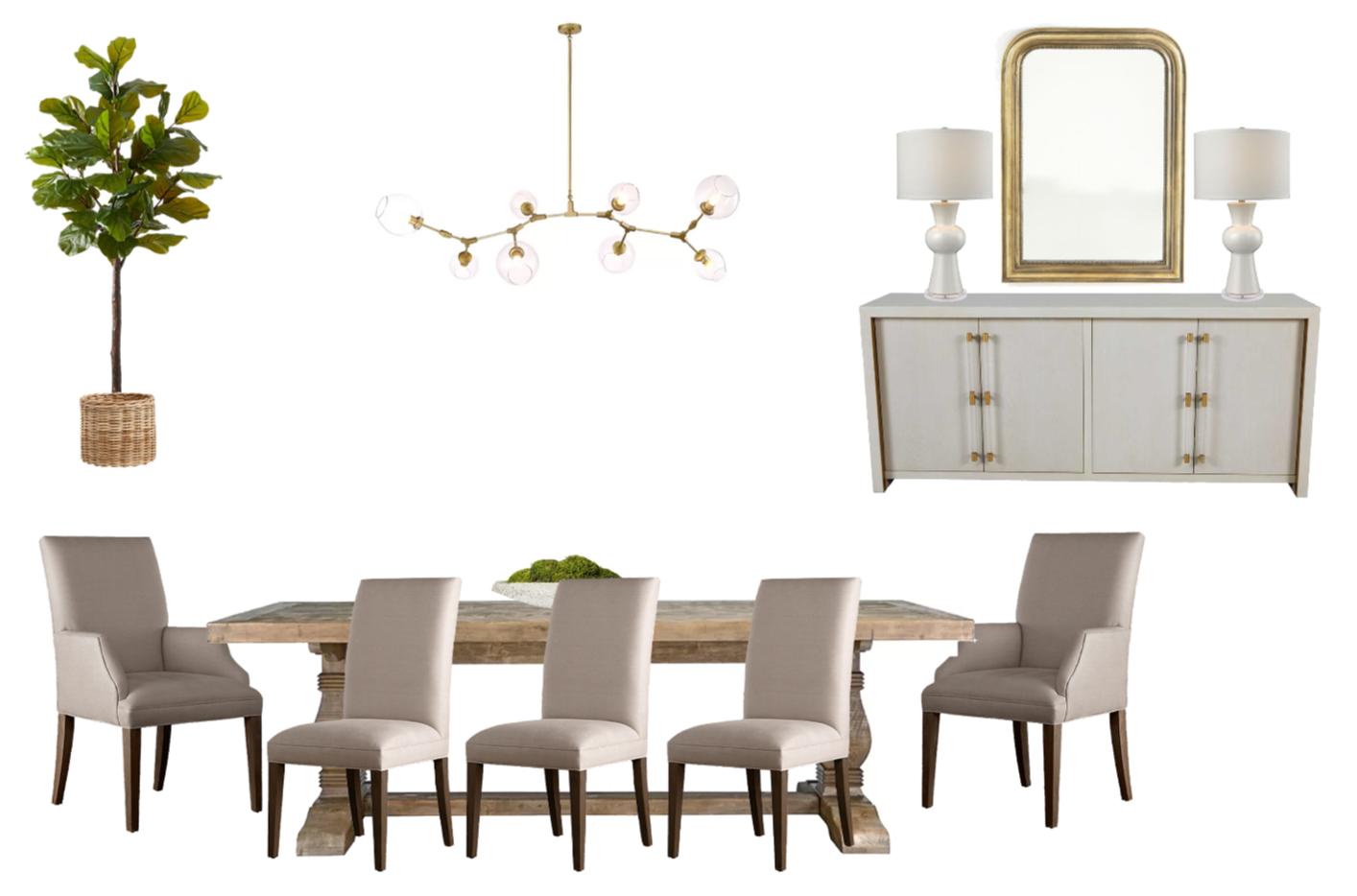 Dining Room Design Plan