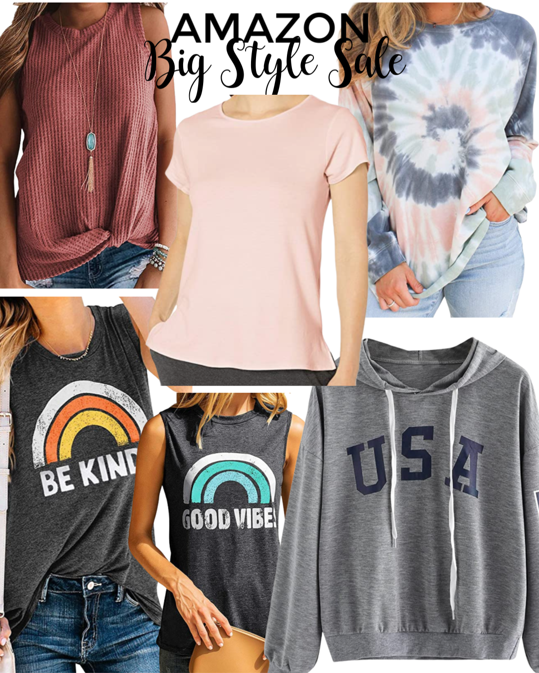 Amazon Big Style Sale Tops