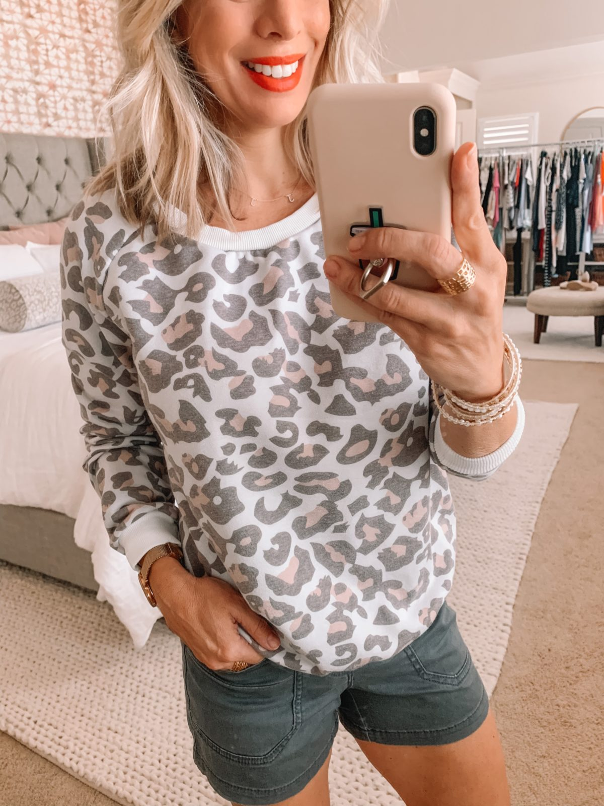Amazon Fashion Finds, Leopard Sweatshirt, Board Shorts