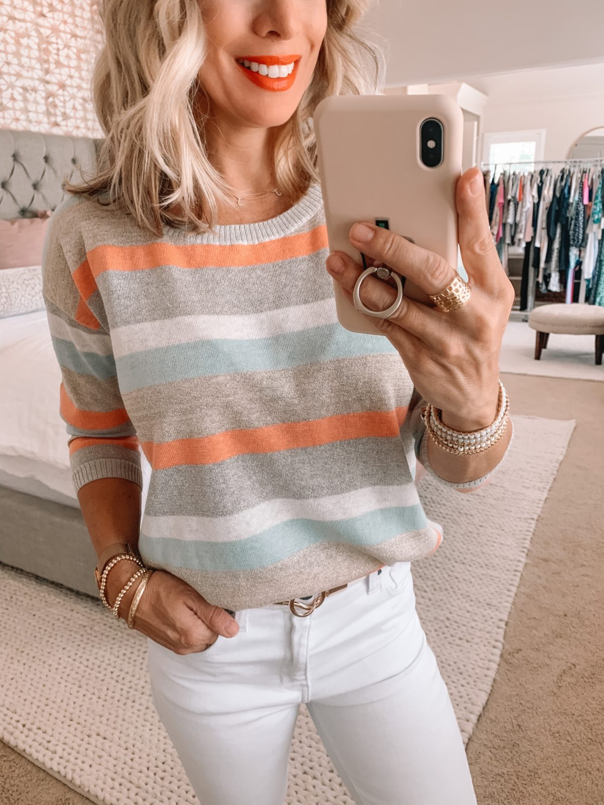 Summer stripe sweater