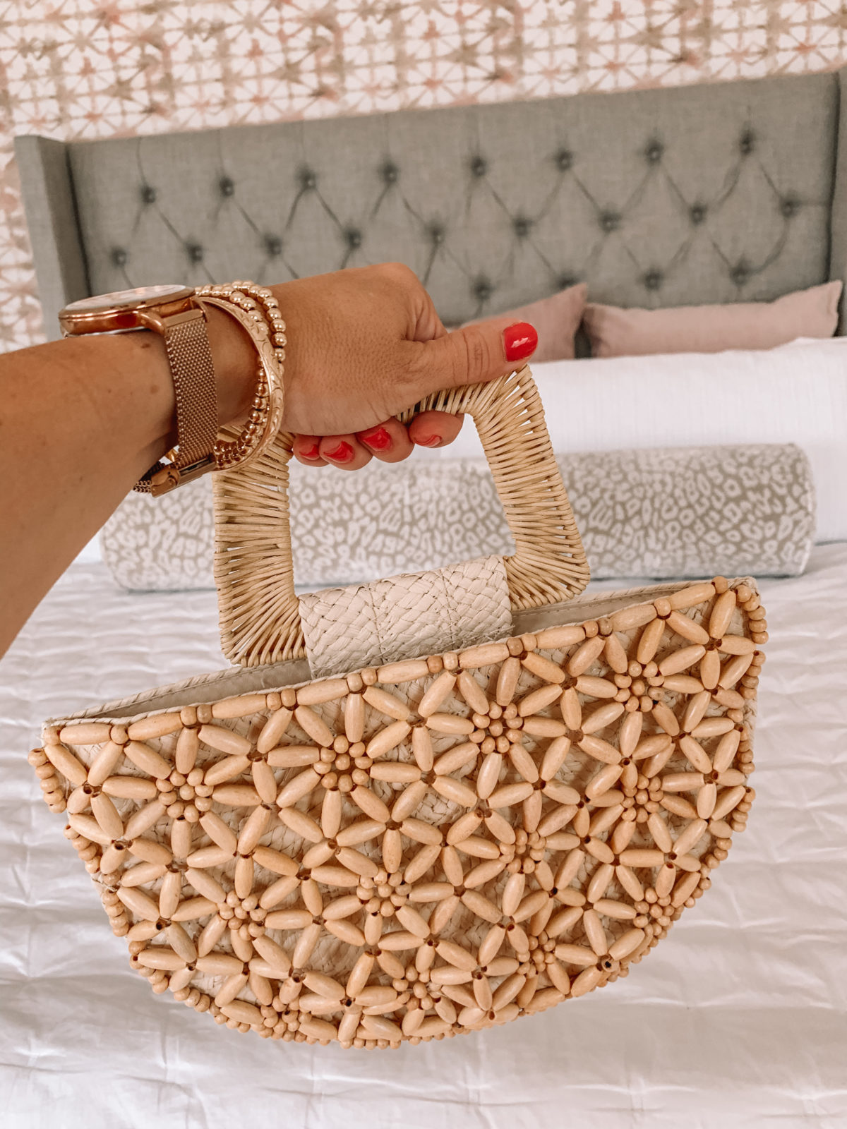 Dressing Room Finds Nordstrom and Target, Beaded Hand Bag