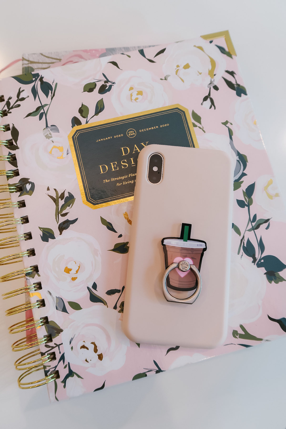 Day Designer phone case and ring