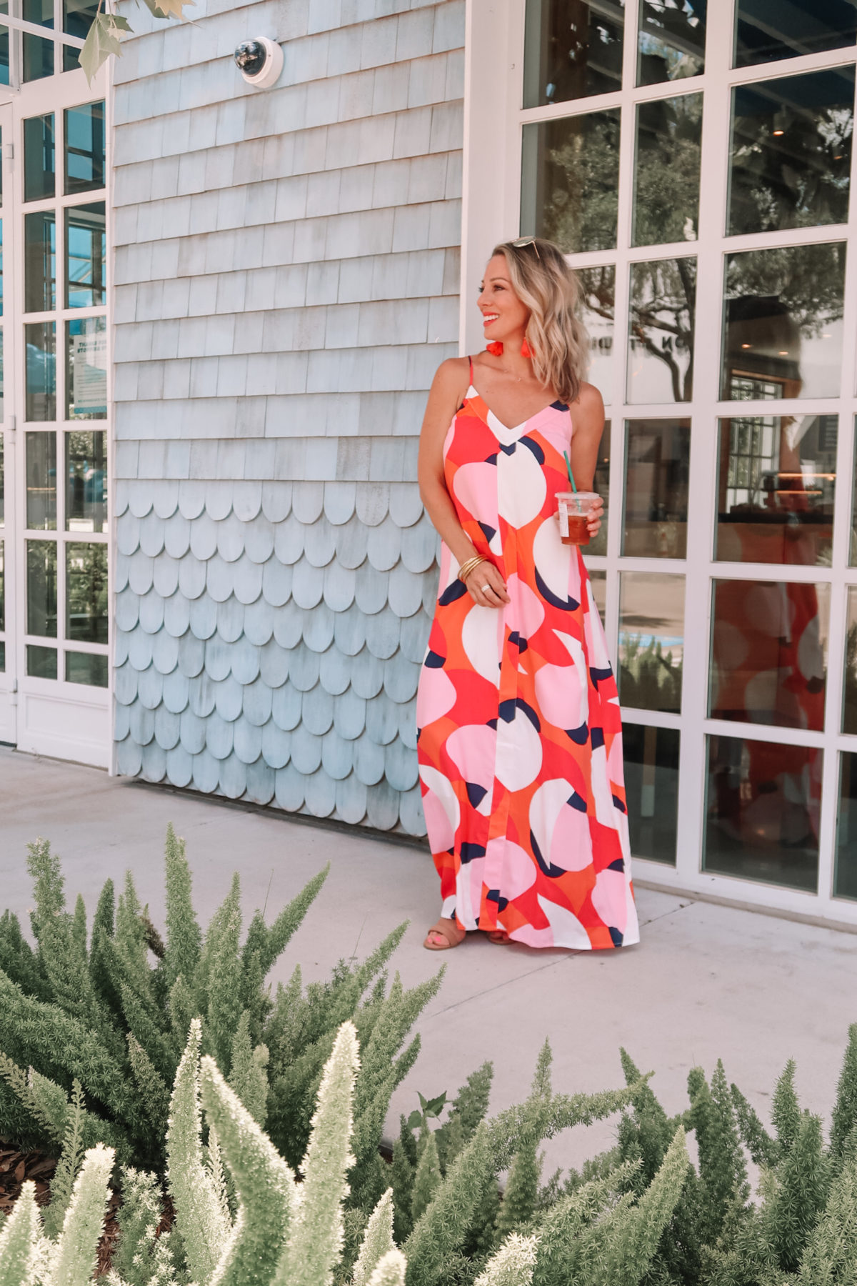 Gibson x Hi Sugarplum maxi dress